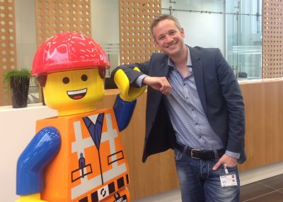 Emmet from the 'LEGO-Movie'