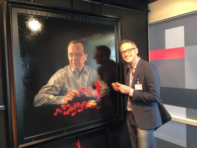 The founder of LEGO