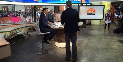 Simon Pierro on the NBC Today show