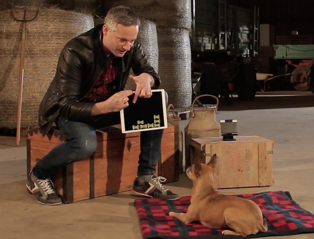 Dogs React to iPad Magic - Simon Pierro