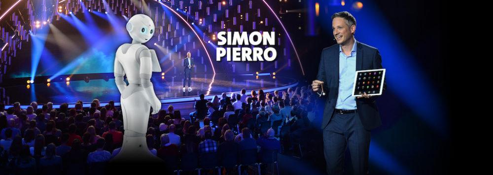 Simon Pierro and Roboter Pepper - Digital Magic