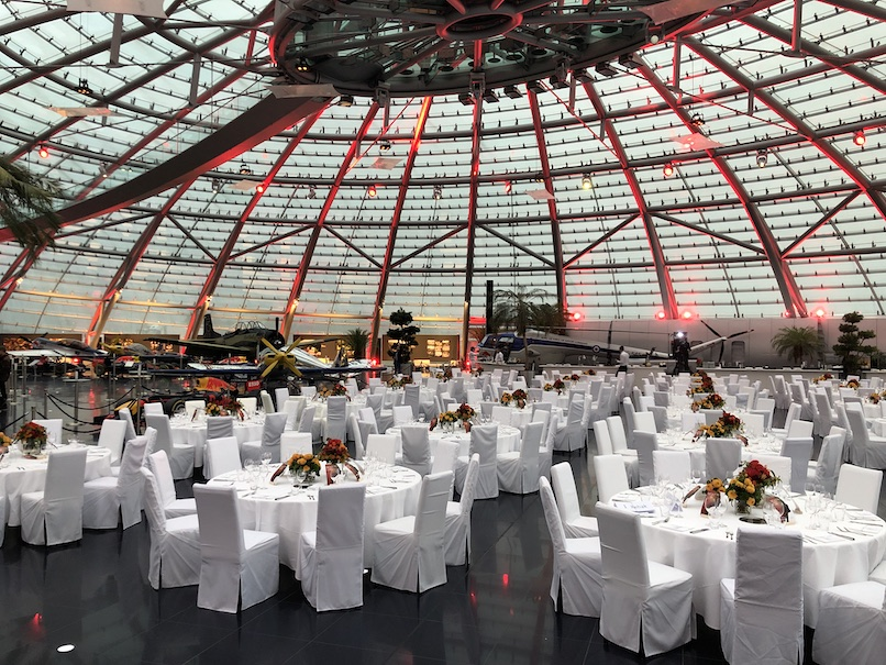 The Red Bull Hangar-7 in Salzburg (Austria)