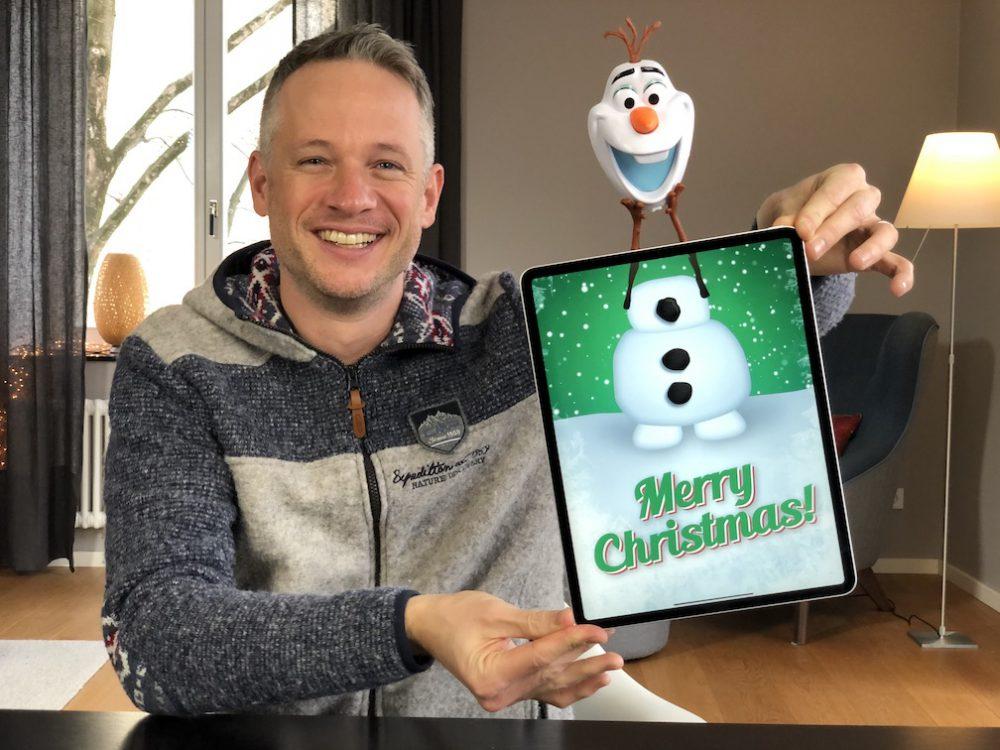 Olaf Magical Adventure - Frozen Fan Art by Simon Pierro iPad Magician